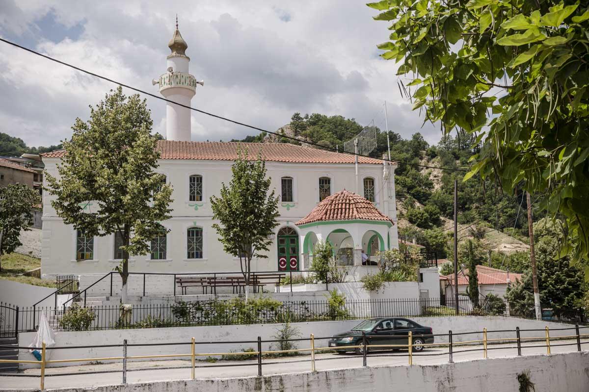 Mosquée de Miki, un village pomaque situé dans la Thrace en Grèce