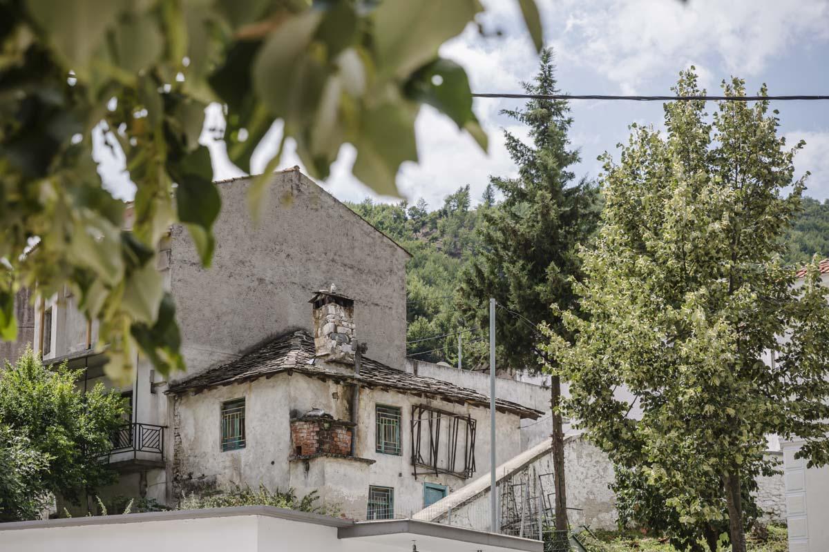 Village de Miki, un village pomaque situé sur les contreforts sur mont Rhodope