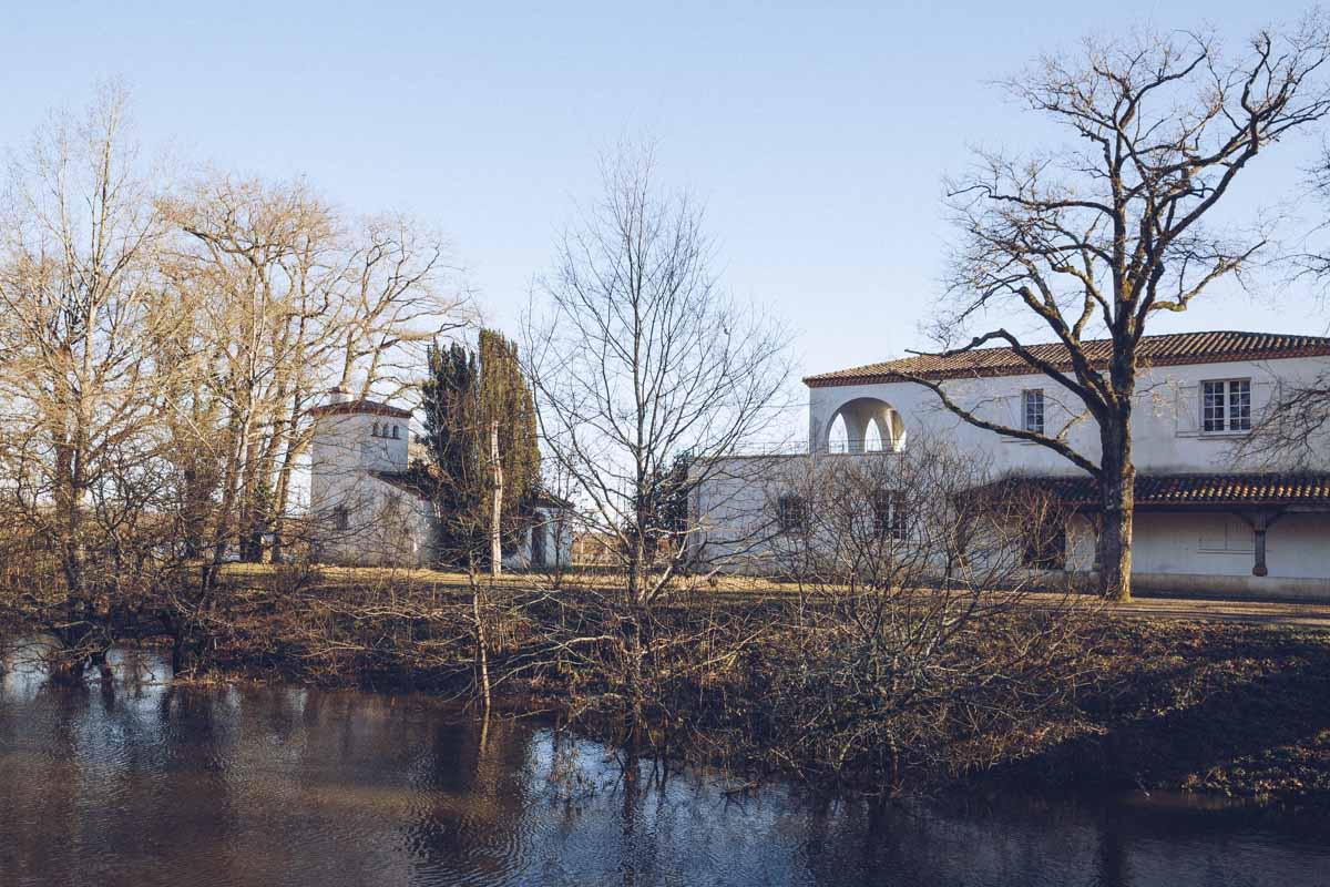 Pavillon Guerlain - le pavillon de chasse du parfumeur transformée en observatoire ornithologique du Lac de Grand Lieu