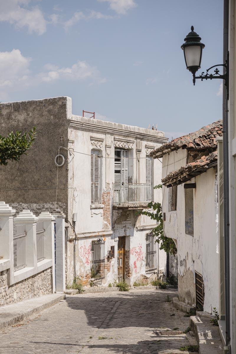 La vieille ville de Xanthi autrefois construite par des marchants de tabac