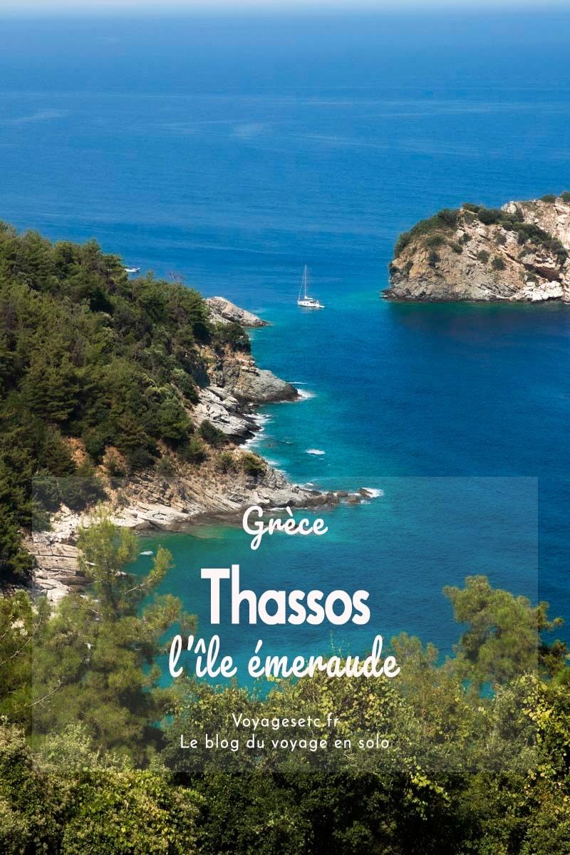 Thassos, l\'île émeraude