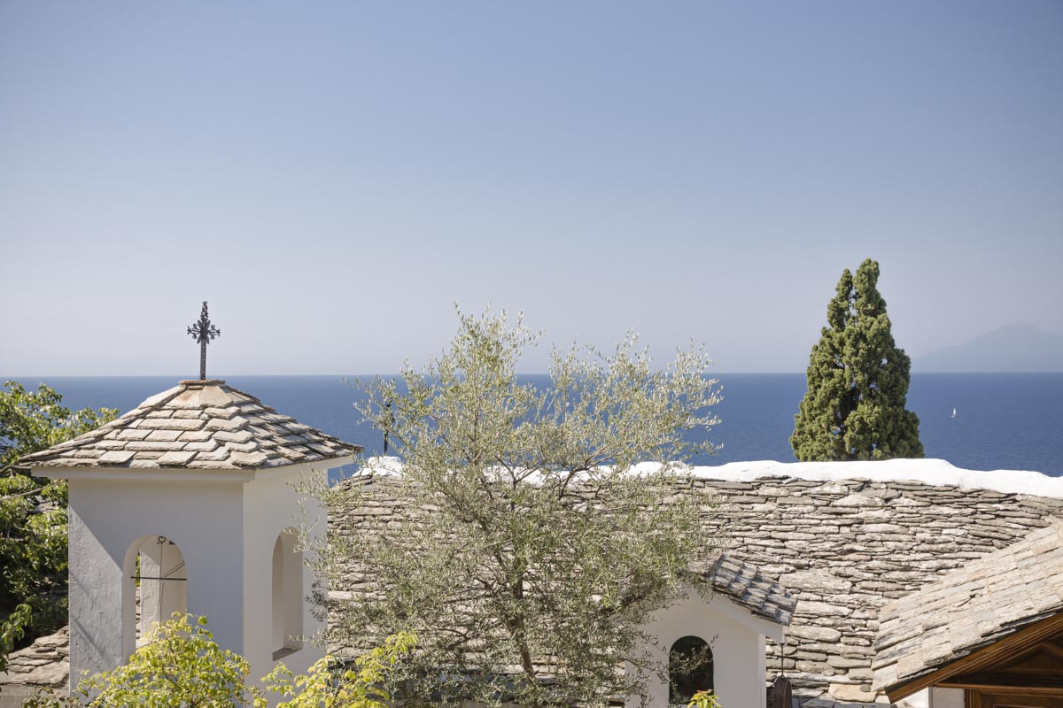 Monastère Archangelos, Thassos - Grèce