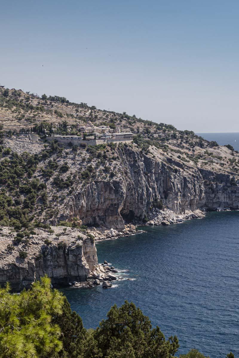 Monastère Archangelos à Thassos en Grèce