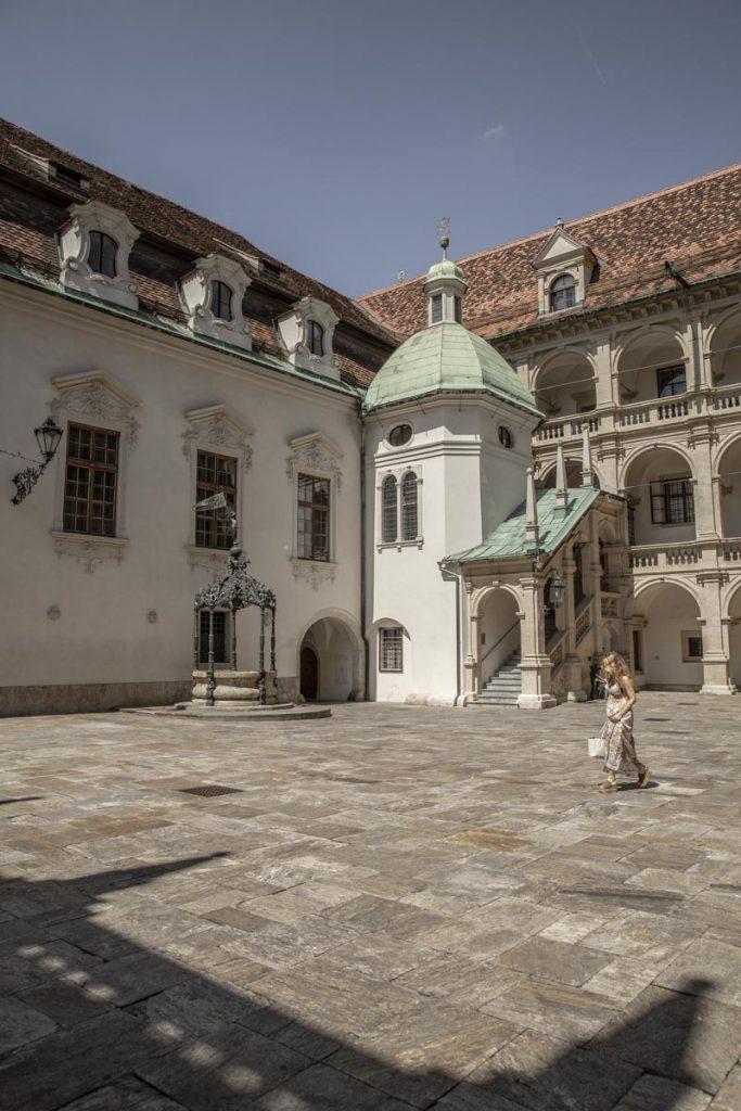Landhaus, un magnifique palais renaissance par l'architecte italien Domenico Dell'Allio à Graz