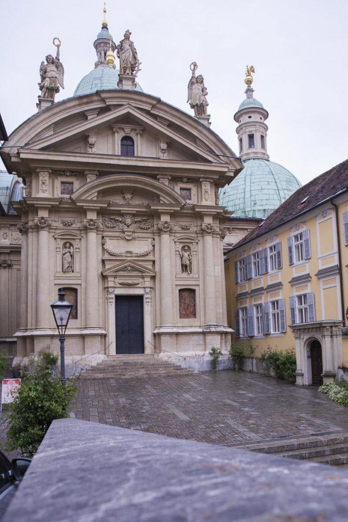 Le mausolée où se trouve le tombeau de Ferdinand II à Graz