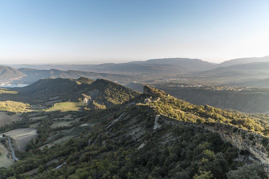 Paysage du centre de la Catalogne
