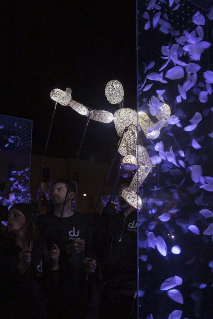 Klanglicht ou la fête des lumières qui se déroule chaque année fin avril ou début mais à Graz.