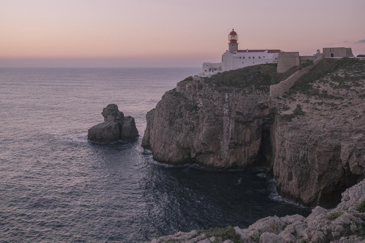 Phare du cap Saint Vincent au Portugal