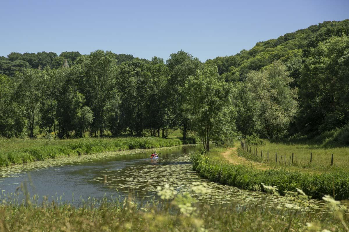 La vallée du Hâvre à Oudon, une belle idée de randonnée à faire lors de vacances en Loire Atlantique