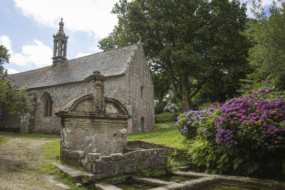 chapelle Notre Dame de Bonne Nouvelle à Locronan dans le sud du Finistère