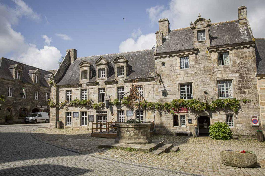 Locronan, une jolie cité de caractère du Finistère sud