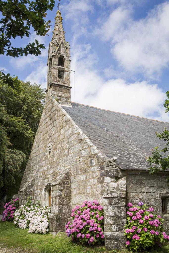 La chapelle de Trémalo à Pont Aven dans le Finistère