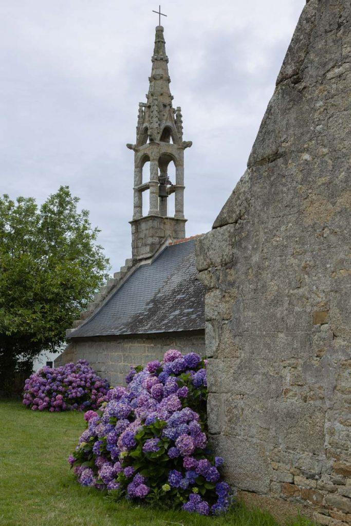 Chapelle de Tremorvezen à Kerascouet dans le Finistère sud en Bretagne
