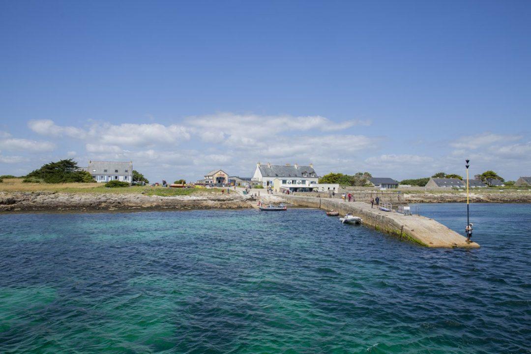 Arrivée sur Saint Nicolas dans l'archipel des Glénan