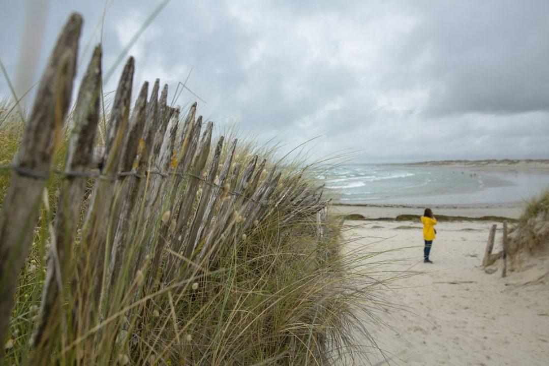 La pointe de la Torche est le paradis des surfers dans le sud du FInistère