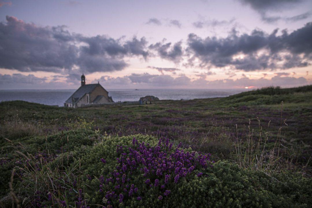 Chapelle Saint-They de la pointe du Van au Cap Sizun, dans le sud du Finistère