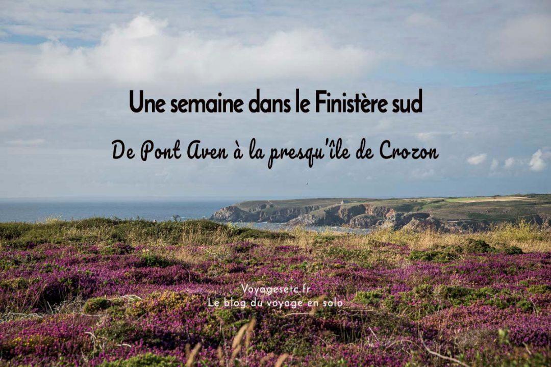 Que faire dans le Finistère sud ? Retour sur ma semaine de Pont Aven à la presqu'île de Crozon