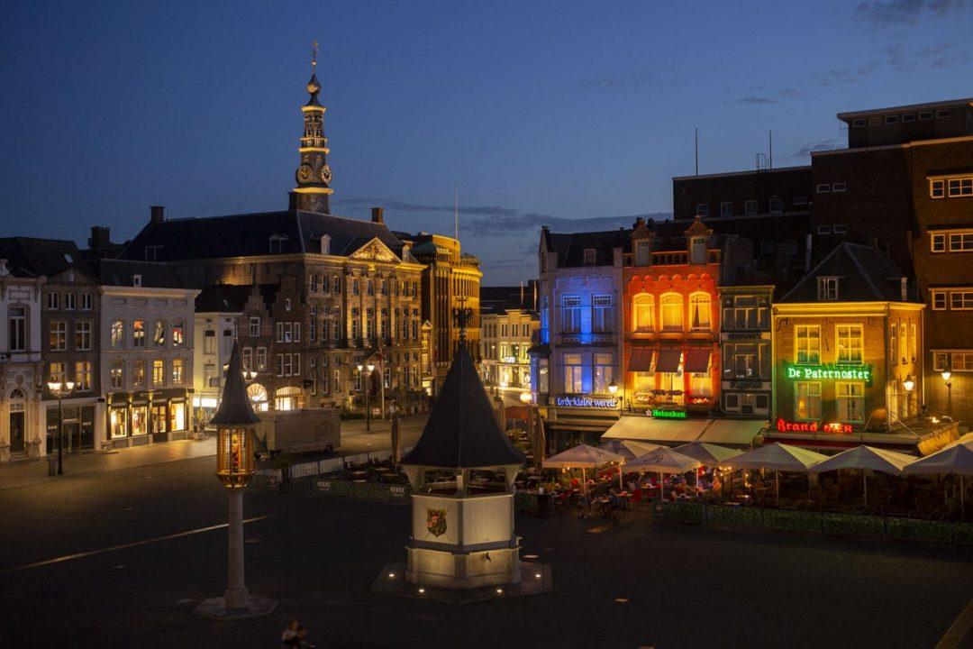 Place du marché de Bois-le-Duc, Pays-Bas
