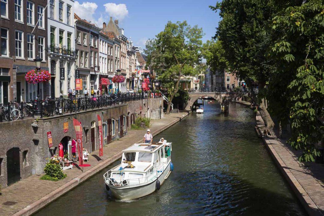 Les canaux d'Utrecht, Pays-Bas
