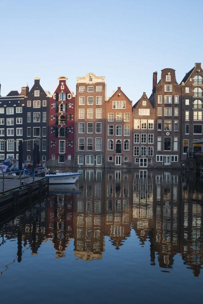 Canaux de Damrak, Amsterdam
