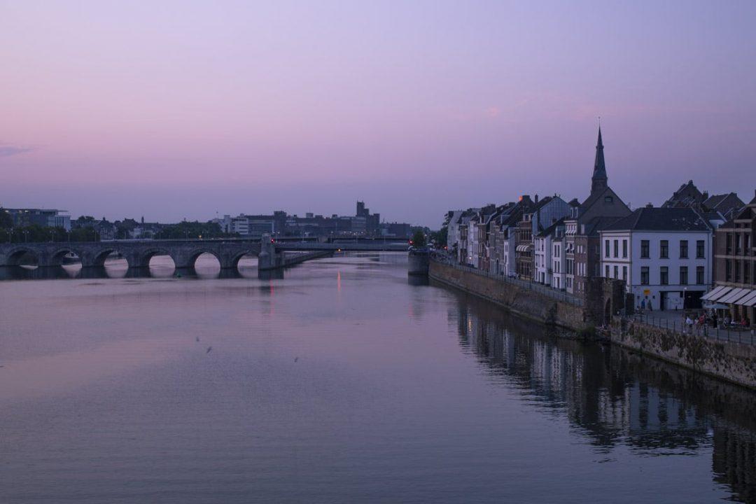 Vue sur la Meuse, Maasstricht