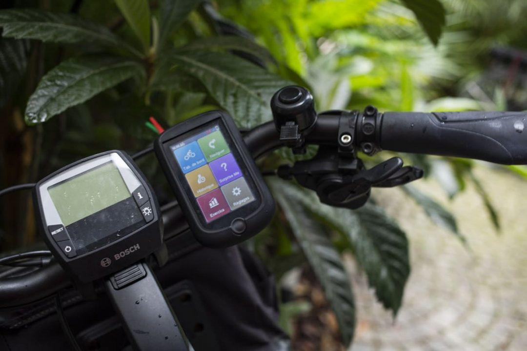 Le GPS, le compagnon des cyclotouristes.
