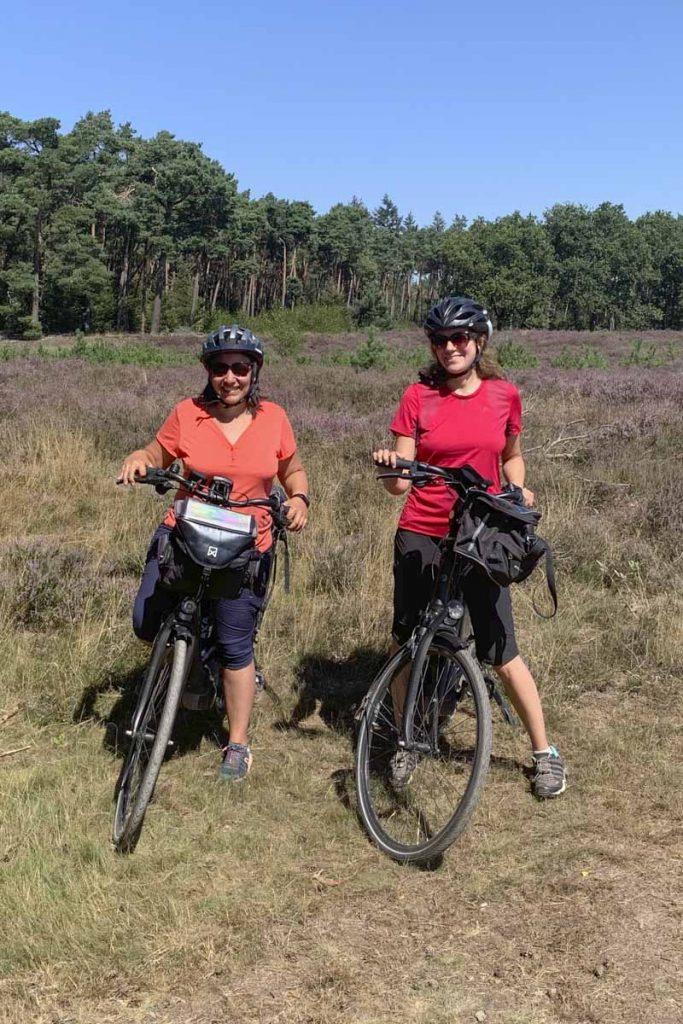 Avec Sarah, le blog de Sarah lors de notre voyage à vélo aux Pays-Bas