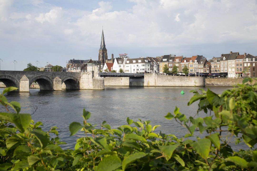 Pont Saint Servais et la rive droite de Maastricht