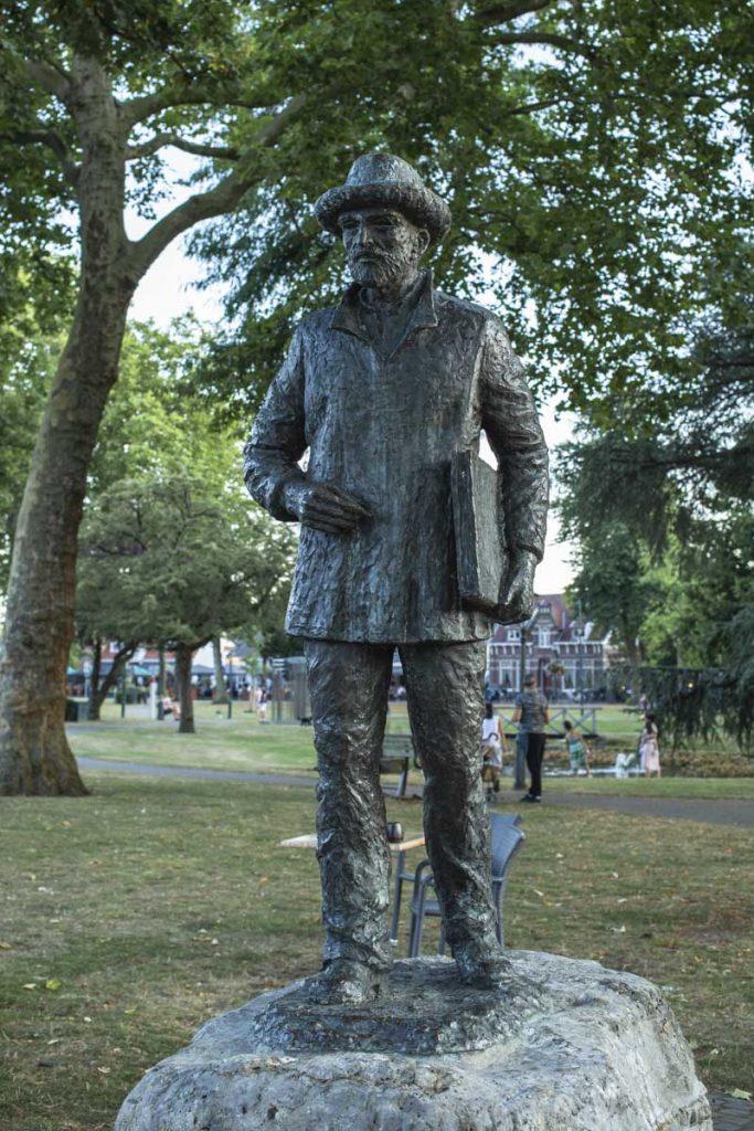 Statue de Vincent Van Gogh, Nuenen
