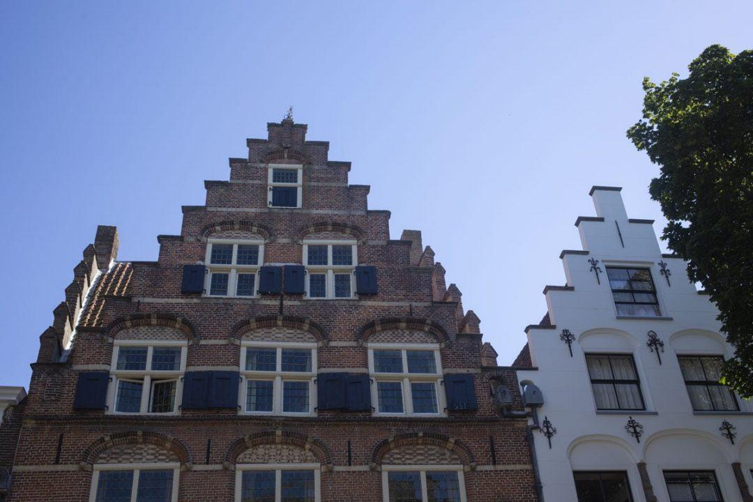 Façades de Zaltbommel, Pays-Bas