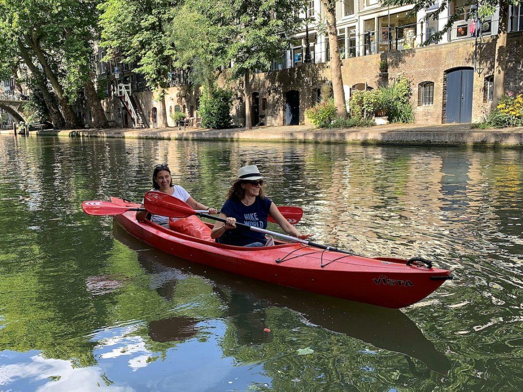Faire du canoë ou du kayak à Utrecht