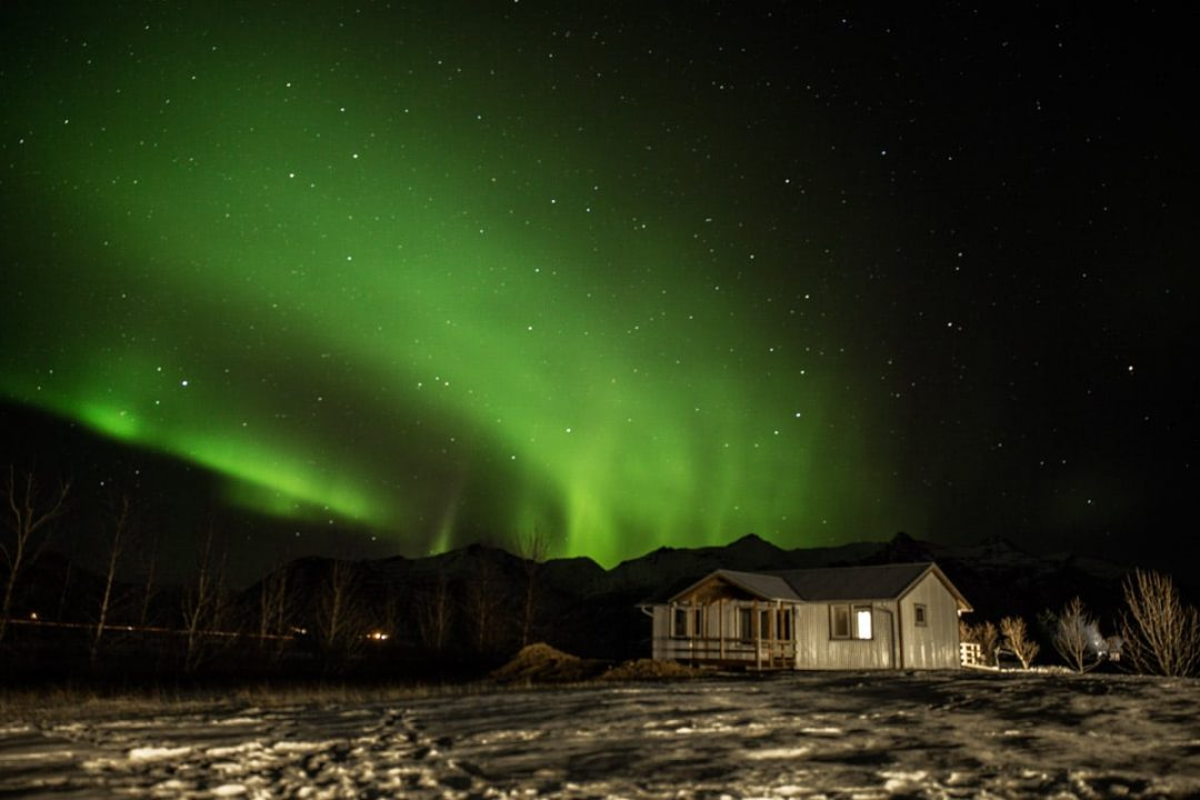 Chasser les aurores boréales en Islande