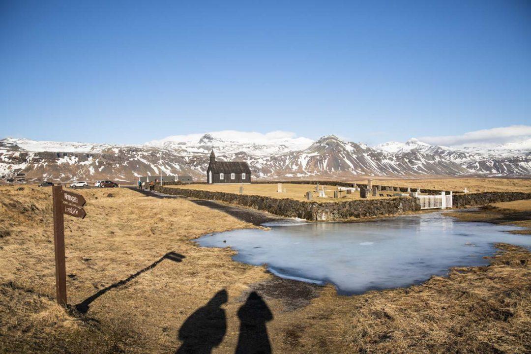 Eglise noire de Budhir à voir sur la péninsule de Snæfellsnes