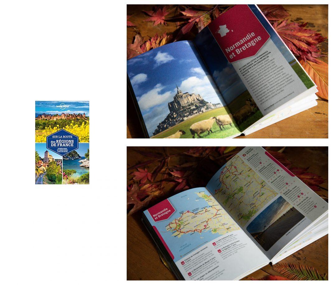 Sur les routes de France, un guide pratique du Lonely Planet
