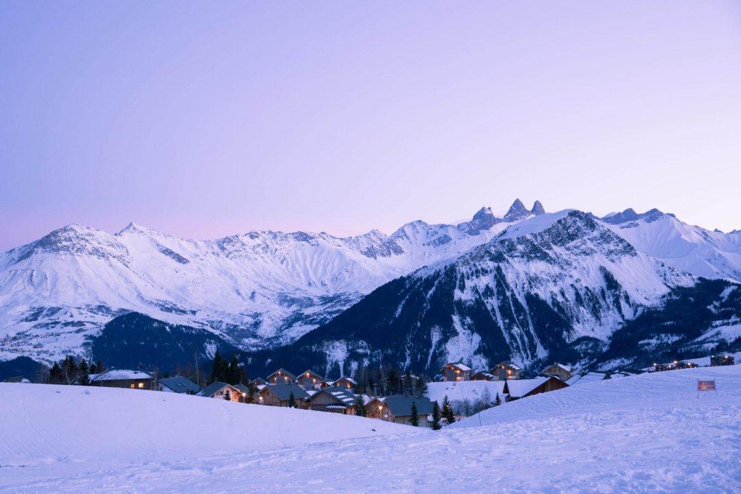 Randonnée d'hiver en Savoie