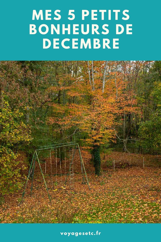 Mes petits bonheurs de décembre