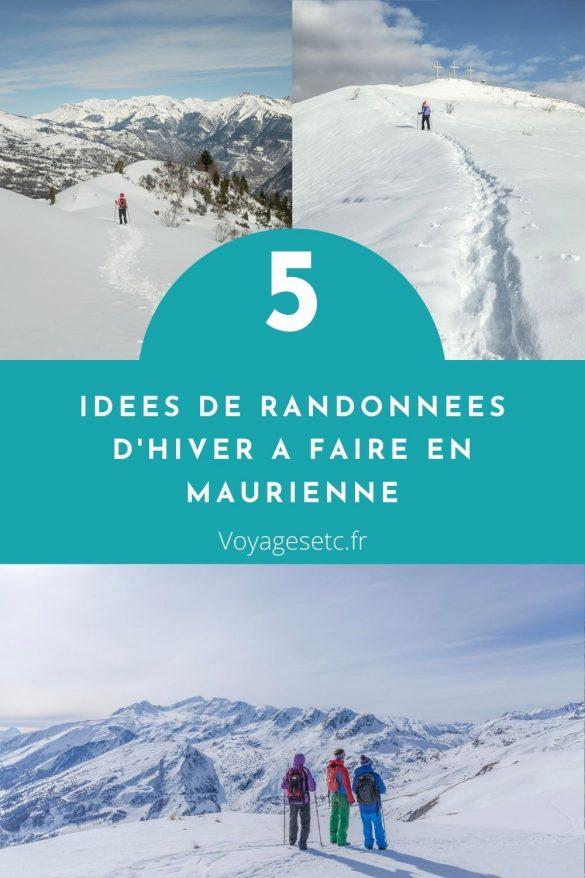 randonnée d'hiver en Maurienne