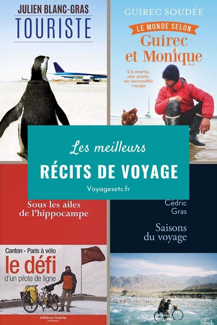 Ma sélection de livres et récits de voyageurs