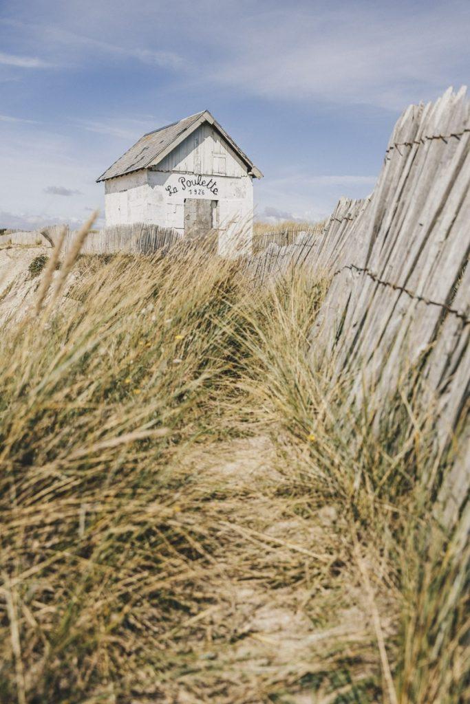 Cabine de plage, Manche