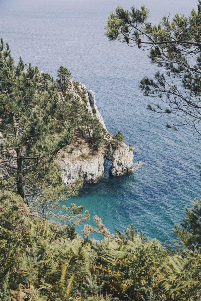 Plage de l'ile Vierge, Finistère