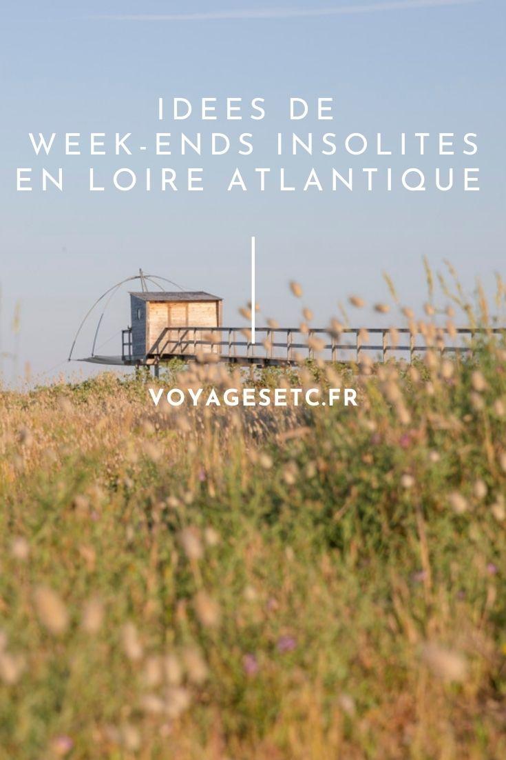 Idées de week-ends insolites en Loire Atlantique