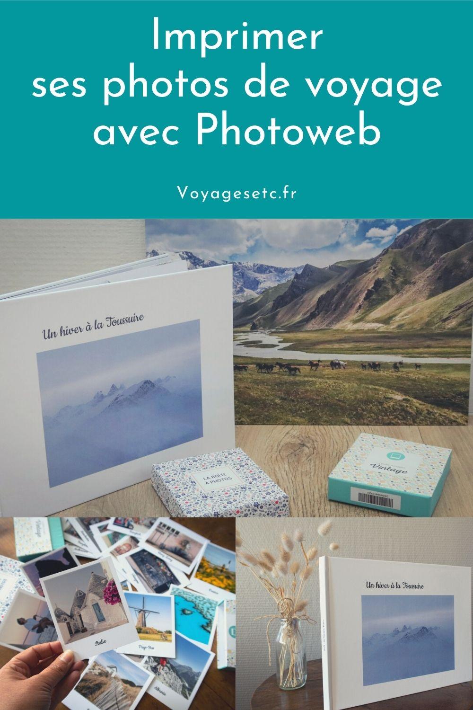 Comment mettre en valeur ses photos de voyage ? J\'ai testé 3 idées avec Photoweb