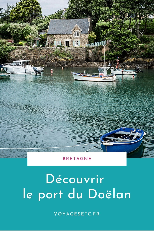 Doëlan, petit port pittoresque en Bretagne sud