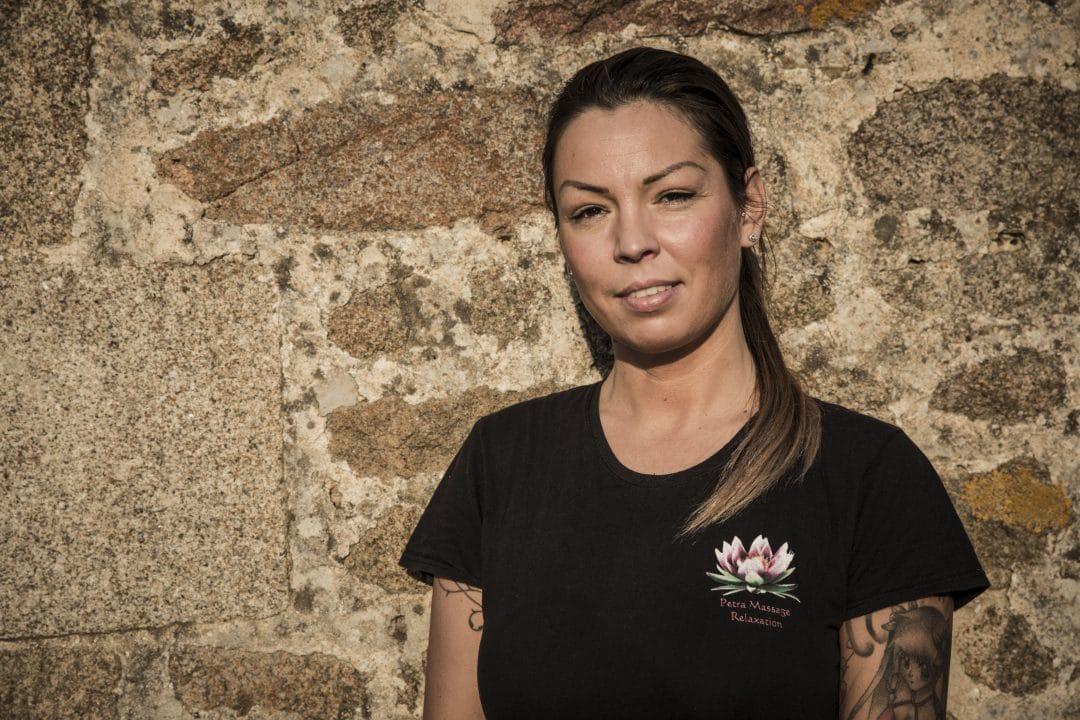 Petra, masseuse et esthéticienne dans les Coëvrons