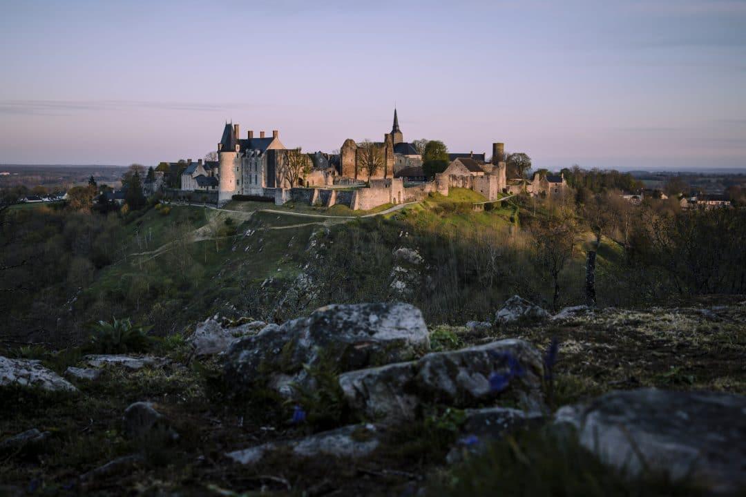 Vue panoramique sur Sainte-Suzanne