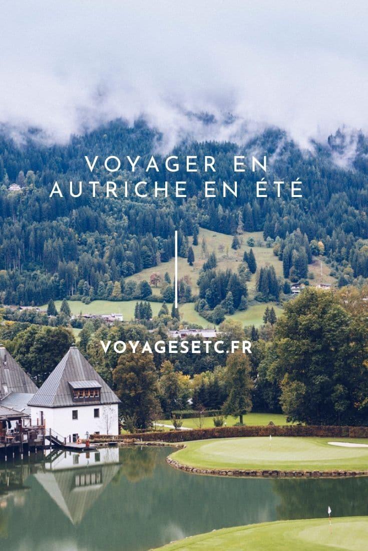 5 idées pour un voyage en Autriche en été