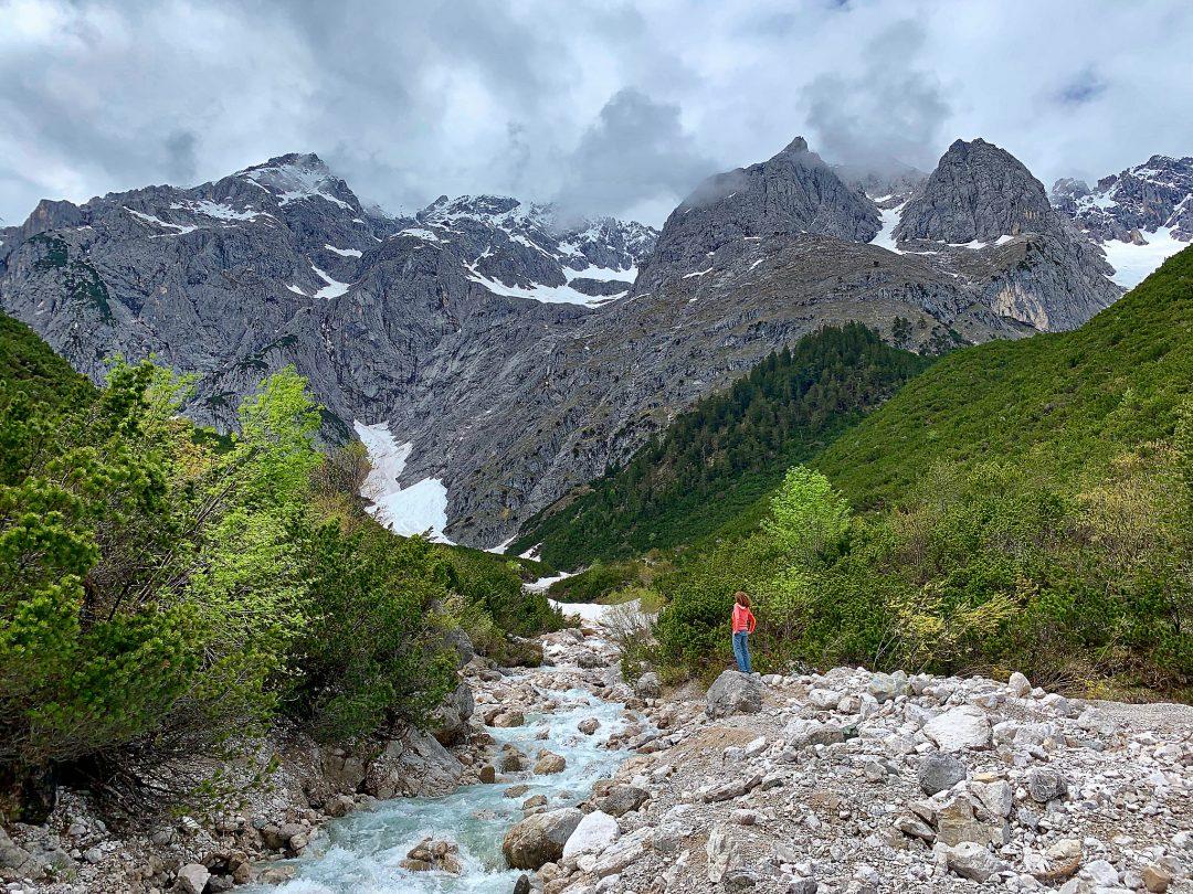 Le plateau de Mieming à quelques encablures d'Innsbruck