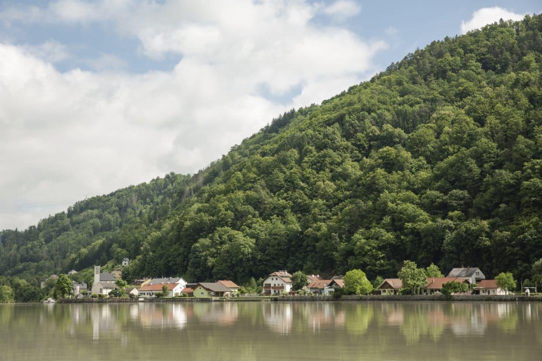 Inzell village sur le Danube