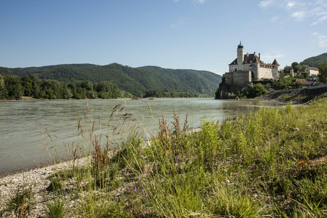 Le chateau de Schönbühel comme posé sur le Danube