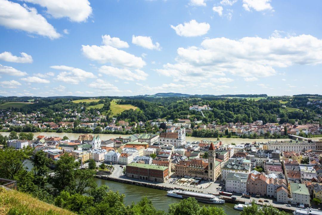 Vue sur Passau